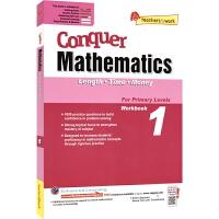 【现货】SAP Conquer Mathematics 1 Length Time Money 攻克数学系列一年级练习