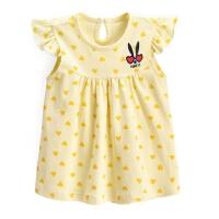 女童背心娃娃衫夏季 儿童无袖上衣 宝宝夏装 婴儿衣服薄款