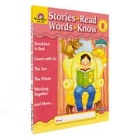 【首页抢券300-100】Evan-Moor Stories To Read Words to Know Level E