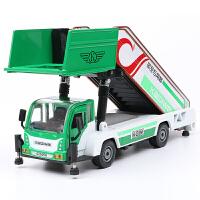 合金工程车模型儿童玩具汽车登机车仿真飞机客梯车卡车模型