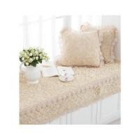 飘窗垫四季窗台坐垫欧式阳台防滑榻榻米坐垫定做高密海绵毛绒加厚
