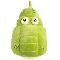 鳄鱼毛绒玩具懒人床上抱枕娃娃公仔可爱睡觉抱女孩 抖音 绿色