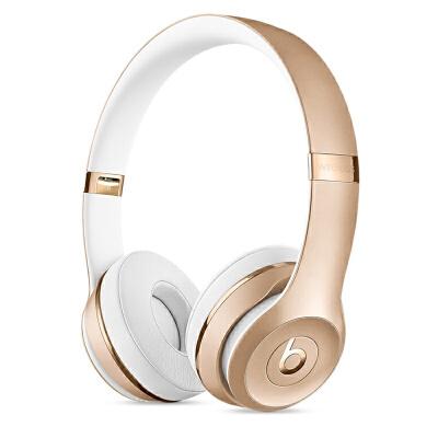[当当自营] Beats Solo3 Wireless 头戴式耳机 金色 MNER2PA/A支持礼品卡支付 正品国行 全国联保