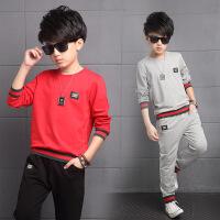 男童冬装中大童儿童小男孩童装1运动套装12-13-15岁