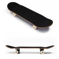 四轮凹板枫木滑板砂纸防滑双翘滑板高弹PU轮刷街代步工具