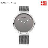 bering白令手表男进口防水男表时尚简约手表潮流钢带男士手表