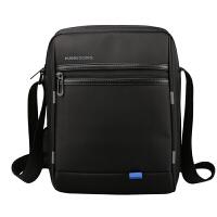 10寸笔记本电脑斜拉包商务包充电防盗斜挎包腰包 黑色