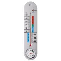 杭新室内温度计湿度计高精度家用婴儿房免电池大棚湿温湿度计表 灰色
