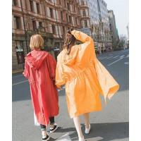 韩版长款宽松OVERSIZE薄款风衣外套夏季防晒衣 姐妹装