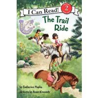 [现货]英文原版 PONY SCOUTS TRAIL RIDE 汪培�E**阶段 I Can Read
