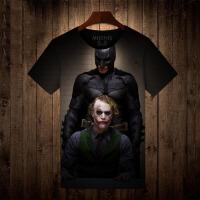 20180317133710303人气新品蝙蝠侠小丑衣服 男士圆领短袖T恤男
