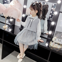 女童套装春装2019新款韩版儿童两件套潮衣女孩时髦春秋连衣裙