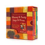 Mommy & Daddy Hugs & Kisses 妈妈&爸爸的拥抱&爸爸的亲吻 礼盒装4册 英文原版绘本 英语启