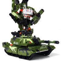 手动变形儿童礼物变形玩具大黄蜂变身金刚5 汽车机器人模型