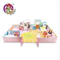 乐吉儿娃娃套装大礼盒 公主玩具别墅城堡儿童女孩过家家玩具