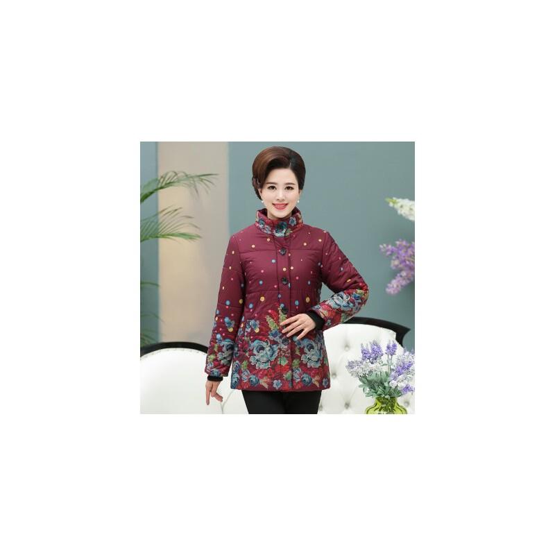 中老年女装冬装棉衣加厚中年妈妈装羽绒40-50岁女士棉袄外套 发货周期:一般在付款后2-90天左右发货,具体发货时间请以与客服协商的时间为准