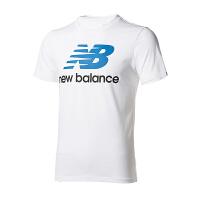 (8.23-25日 满100减30 满279减100)New Balance 男装 2018新款运动休闲圆领透气短袖T恤  AMT73587WM