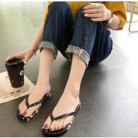 人字拖女士平底学生简约时尚外穿海边平跟防滑沙滩夹趾凉拖鞋
