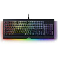 雷蛇(Razer)萨诺狼蛛幻彩专业版 RGB背光灯薄膜游戏键盘 绝地求生吃鸡键盘
