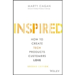 【现货】英文原版 启示录(第二版):打造用户喜爱的产品 Inspired: How to Create Tech Pr