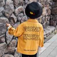 男童外套中大儿童牛仔夹克男孩上衣童装