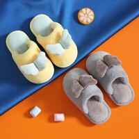 儿童棉拖鞋冬一家三口家居鞋室内防滑男宝宝女童小孩防滑地板拖鞋