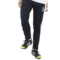 世界杯德国队 足球裤 男士速干跑步 半拉链收脚长裤 黑色