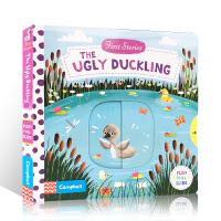 进口英文原版绘本 First Stories:The Ugly Duckling 丑小鸭 经典童话故事 幼儿益智抽拉玩