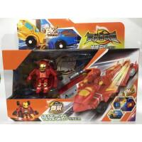 碰碰变形竞技套装擎天司令官复仇者联盟黄蜂魔幻金刚爆裂玩具 钢铁侠