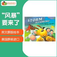 """【5折封顶】美国进口企鹅出版社出品 Storm is Coming! """"风暴""""要来了!平装4-8岁适读年龄原版英文儿童故事绘本"""