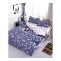 宿舍床上套件 大学生单人床五件套可水洗床单被套棉被寝室床上用品员工床铺床品套件
