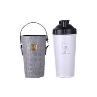 杯具熊(BEDDYBEAR) 能量杯保温杯碱性矿物质不锈钢水壶健康杯泡茶杯暖水瓶男女士学生水杯700ml 灰色