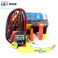 汽车车用急救包救援包安全锤螺旋刀绝缘胶带应急工具箱八件套用品