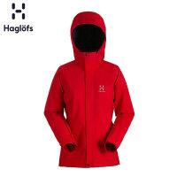 Haglofs火柴棍女款户外防风防水透气保暖舒适冲锋衣 603283 欧版
