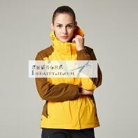 户外登山冲锋衣男三合一两件套防水防风外套透气大码登山服男女款