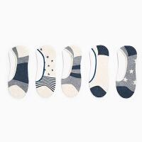 袜子男船袜男士运动短袜薄款隐形袜浅口潮男袜日系原宿袜 男士均码