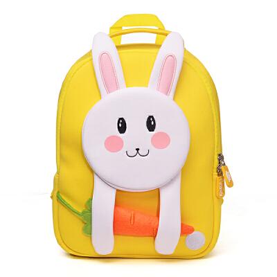 儿童书包幼儿园男女童小孩1-3-5-6岁宝宝可爱卡通韩版潮双肩背包