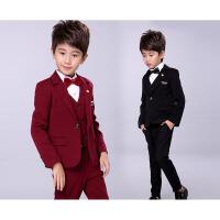 儿童西服7件套韩版小孩套装男 花童礼服套装男童小西装外套