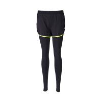 361度女装假两件运动裤跑步运动套装361紧身裤
