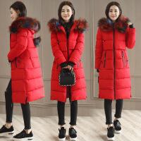 冬季女士棉衣新款韩版中长款加厚棉袄修身显瘦外套