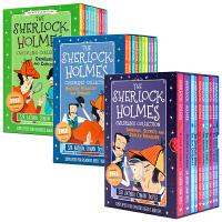 福��摩斯探案全集20��The Sherlock Holmes 盒�b 英文原版�M口�D�� 神探夏洛克 柯南道�� �W生�n外��x