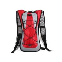 户外运动骑行水袋包自行车包登山旅行水袋背包男女双肩背包骑行包 红色 不含水袋 均码