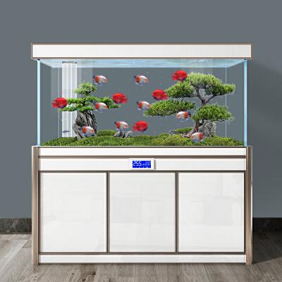 【品牌热卖】玻璃金鱼缸水族箱客厅小型家用大型免换水懒人生态养鱼缸过滤