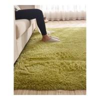 北欧丝毛地毯客厅沙发茶几卧室地毯飘窗床边毯满铺榻榻米定制.