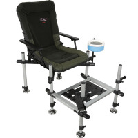 渔具D36X钓椅加粗伸缩腿可折叠防滑钓台椅钓鱼椅钓箱配件