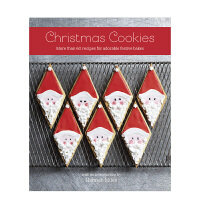 Christmas Cookies 圣诞节的曲奇饼干:60多种可爱节日烘焙食谱 英文原版