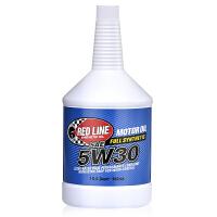 美国原装进口红线Redline机油汽车全合成机油多脂类五类润滑油5W-30 (946毫升/瓶)