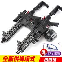 m416下供电动连发儿童男孩绝地求生玩具枪可发射冲锋抢