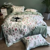 80支天丝四件套夏季冰丝夏凉床上用品欧式夏天床单被套