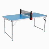 20180317072939665儿童面板家用可折叠式折叠式小型乒乓球台折单二合一迷你型 +4凳+球拍(送三球)